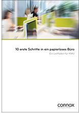 """Leitfaden """"10 erste Schritte in ein papierloses Büro"""""""